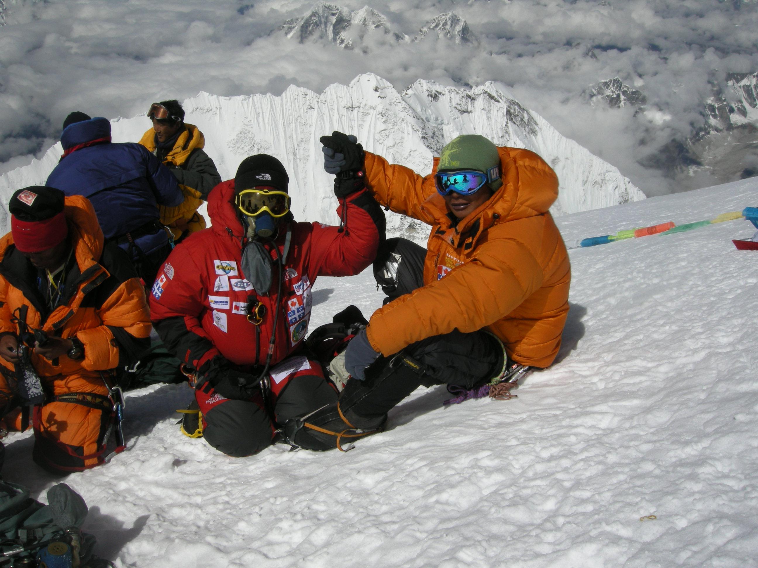 La gratitude au sommet de l'Everest